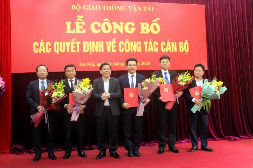 Bo GTVT thay doi lanh dao Vu Doi tac cong tu hinh anh 1 BoGTVT.png