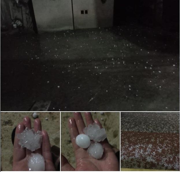 Bắc Kạn là địa phương thiệt hại nhiều nhất vì mưa đá. Ảnh: Fanpage Bắc Kạn.