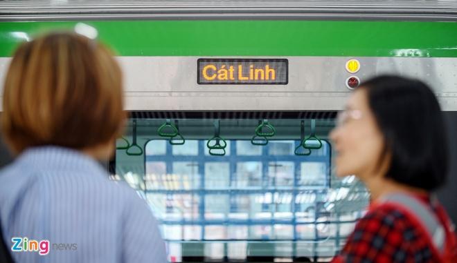 tien do du an Cat Linh - Ha Dong anh 1