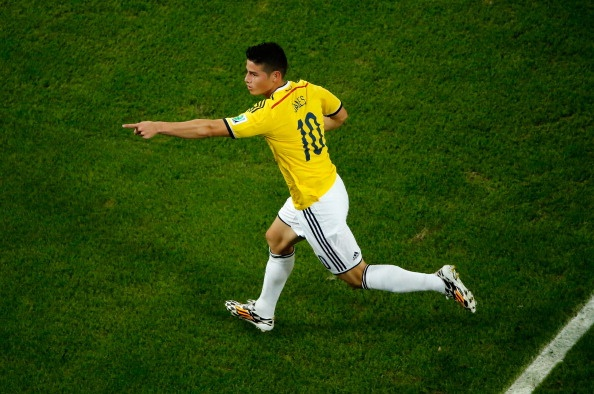 Sieu pham cua James Rodriguez an tuong nhat World Cup 2014 hinh anh
