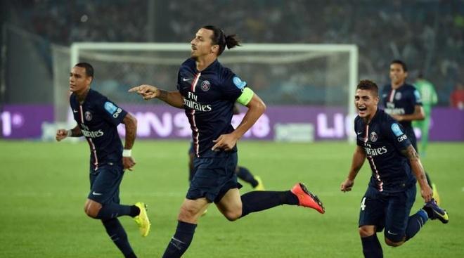 Ibrahimovic lap cu dup giup PSG gianh Sieu cup hinh anh