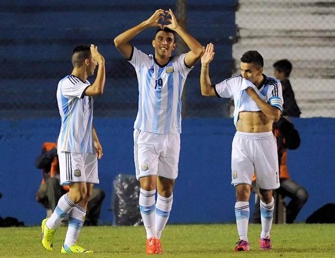 Pha sut xa tuyet dep cua cau thu U20 Argentina hinh anh