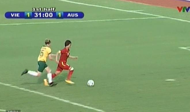 Tong hop tran dau: Nu Viet Nam 3-4 U20 Australia hinh anh