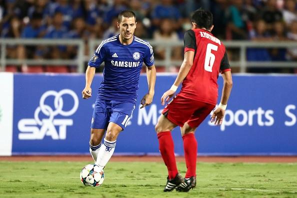 Cau thu tre ghi ban giup Chelsea thang cac ngoi sao Thai Lan hinh anh