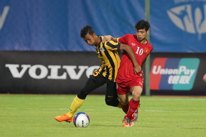 Man trinh dien an tuong cua Cong Phuong truoc U23 Malaysia hinh anh