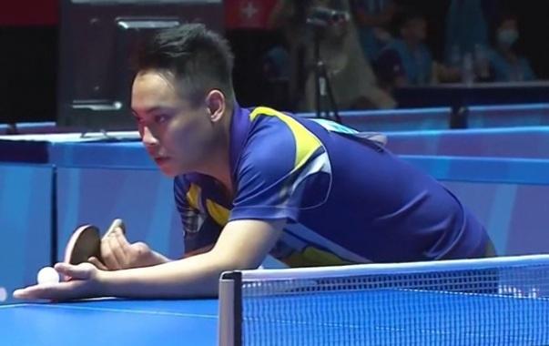 Bong ban SEA Games 28: Le Tien Dat 3-0 Lat Thet Ko Ko hinh anh