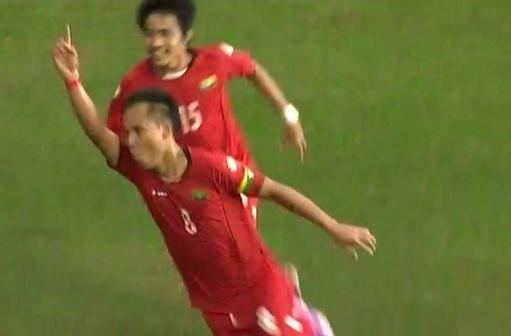 Ban thang may man cua U23 Myanmar hinh anh