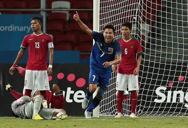 Tong hop tran dau: U23 Thai Lan 5-0 U23 Indonesia hinh anh