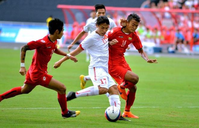 Tong hop tran dau: U23 Viet Nam 1-2 U23 Myanmar hinh anh