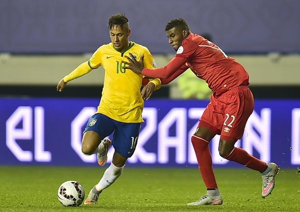 Tong hop tran dau Copa America: Brazil 2-1 Peru hinh anh