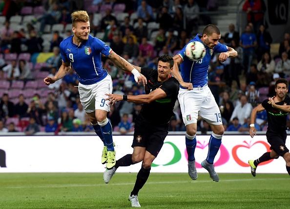 Tong hop tran dau: Italy 0-1 Bo Dao Nha hinh anh