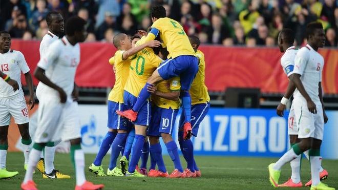 Tong hop tran dau: U20 Brazil 5-0 U20 Senegal hinh anh