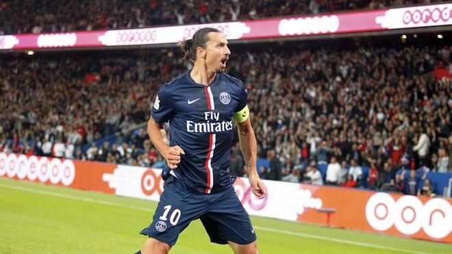Tong hop ban thang dep cua Ibrahmovic o Ligue 1 hinh anh