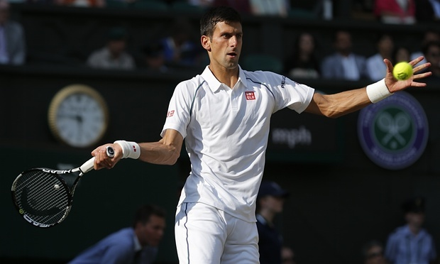 Chung ket Wimbledon 2015: Djokovic 3-1 Federer hinh anh