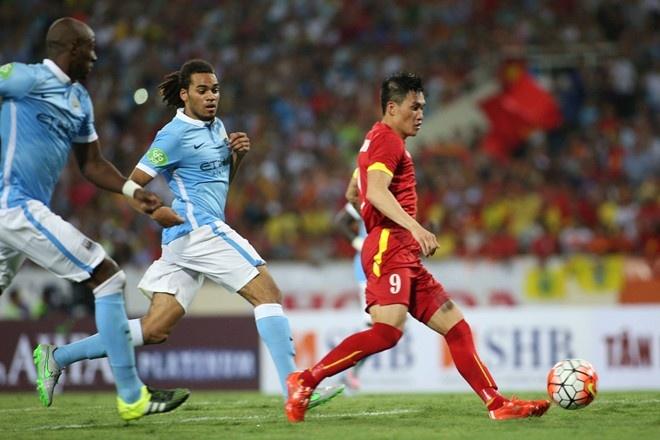 Tong hop tran dau: Viet Nam 1-8 Manchester City hinh anh