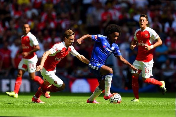 Tong hop tran dau: Arsenal 1-0 Chelsea hinh anh