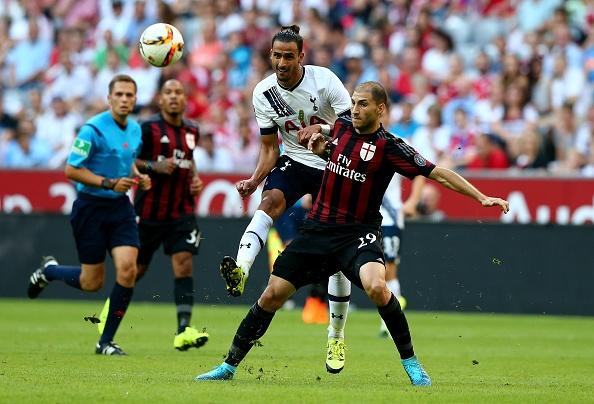 Tong hop tran dau: Tottenham 2-0  AC Milan hinh anh