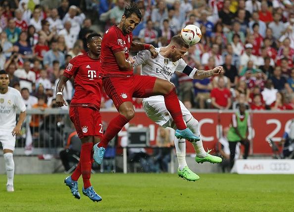 Tong hop tran dau: Real Madrid 0-1 Bayern Munich hinh anh