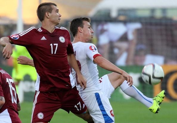 Tong hop tran dau: DT Latvia 1-2 DT Sec hinh anh