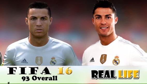 Su bien doi trong 12 nam cua Ronaldo trong game FIFA hinh anh
