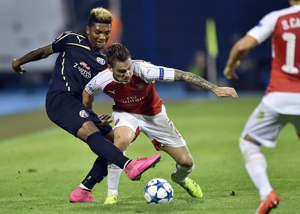 Tong hop tran dau: Dinamo Zagreb 2-1 Arsenal hinh anh