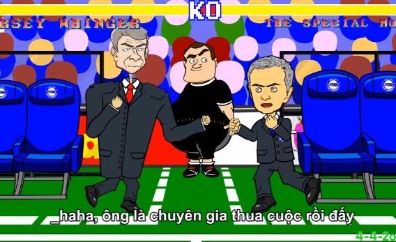 Cuoc doi dau muon thuo giua Mourinho vs Wenger hinh anh