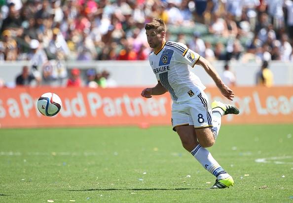 Gerrard ghi ban thang thu 2 cho LA Galaxy tai MLS hinh anh