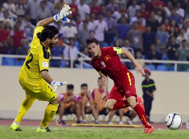 Tong hop tran dau: Viet Nam 1-1 Iraq hinh anh