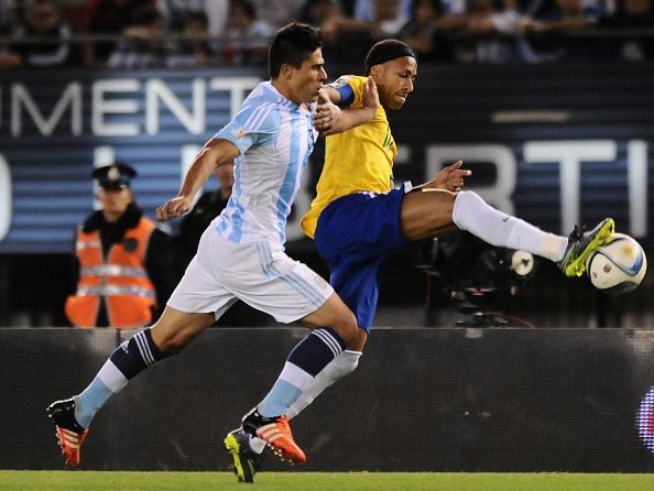 Tong hop tran dau: Argentina 1-1 Brazil hinh anh