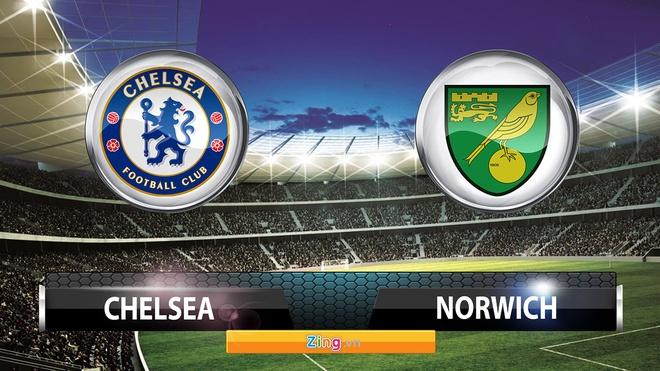 Tong hop tran dau: Chelsea 1-0 Norwich City hinh anh