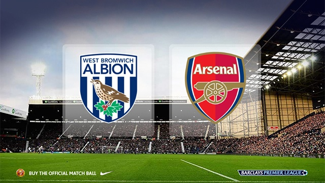 Video truc tiep bong da: West Brom vs Arsenal hinh anh