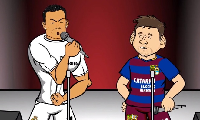 Cuoc chien ca hat giua Ronaldo va Messi hinh anh