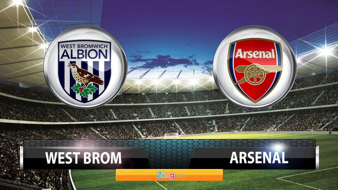 Tong hop tran dau: West Brom 2-1 Arsenal hinh anh