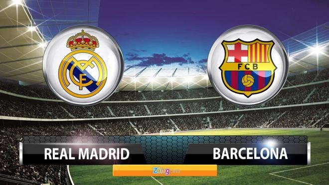 Tong hop tran dau: Real Madrid 0-4 Barcelona hinh anh