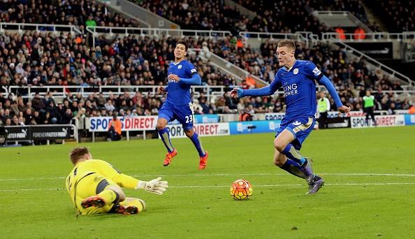 Leicester City dan dau NH Anh sau tran thang Newcastle hinh anh