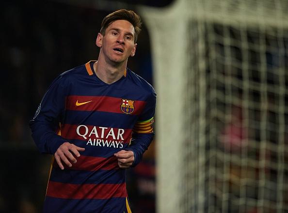 Messi phai uong thuoc khi dang thi dau hinh anh