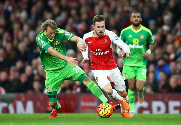 Tong hop tran dau: Arsenal 3-1 Sunderland hinh anh