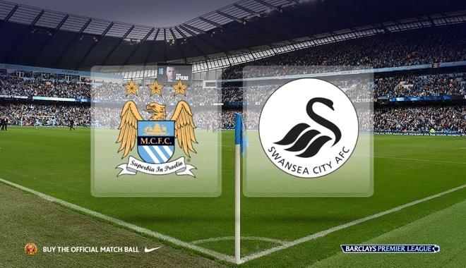 Truc tiep bong da: Manchester City vs Swansea City hinh anh