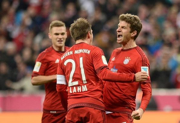 Tong hop tran dau: Bayern Munich 2-0 Ingolstadt hinh anh