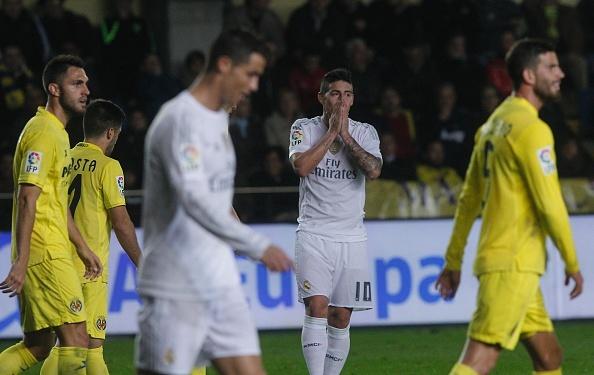Tong hop tran dau: Villarreal 1-0 Real Madrid hinh anh