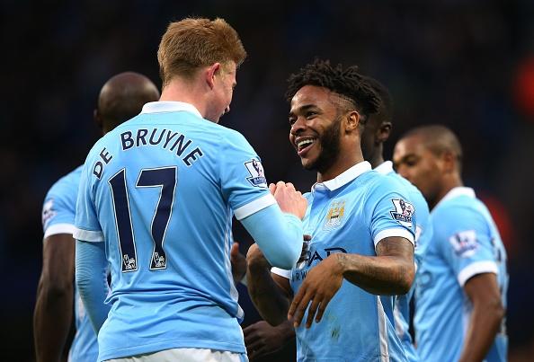 Tong hop tran dau: Manchester City 4-1 Sunderland hinh anh