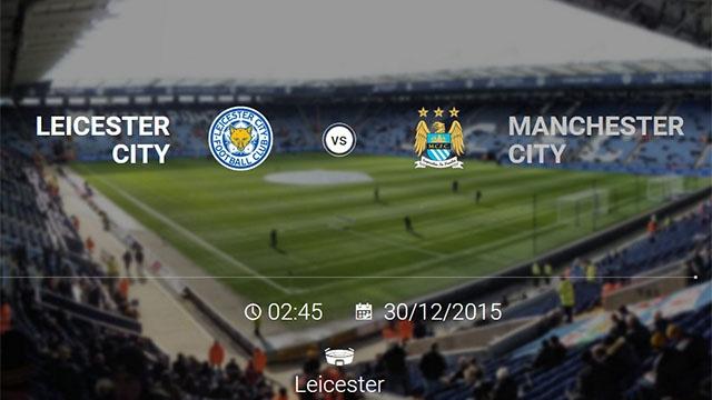 Leicester City - Manchester City: Tran cau 6 diem hinh anh