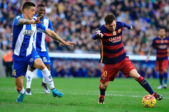 Man trinh dien cua Messi truoc Espanyol hinh anh
