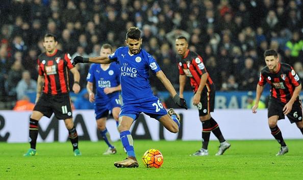 Riyad Mahrez sut hong 11 m khien Leicester bi cam hoa hinh anh