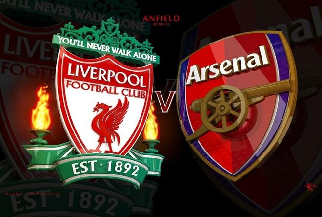 Liverpool vs Arsenal: Khach at chu hinh anh