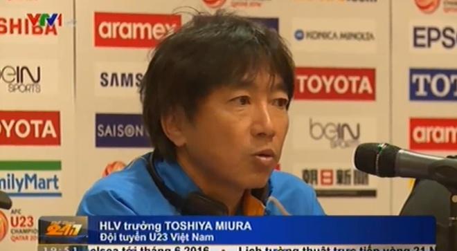 HLV Miura dat muc tieu cao o VCK U23 chau A hinh anh