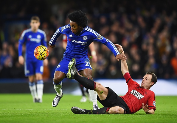 Tong hop tran dau: Chelsea 2-2 West Bromwich hinh anh