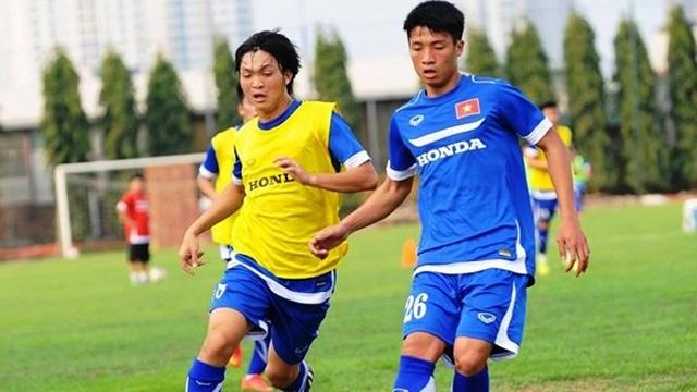 U23 Viet Nam thoai mai tap luyen truoc tran dau cuoi hinh anh