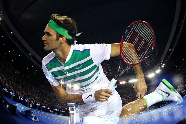 Australian Open 2016: Roger Federer 3-1 Grigor Dimitrov hinh anh