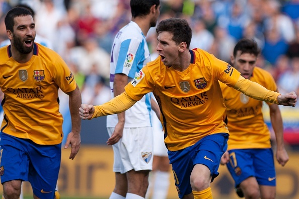 Tong hop tran dau: Malaga 1-2 Barcelona hinh anh